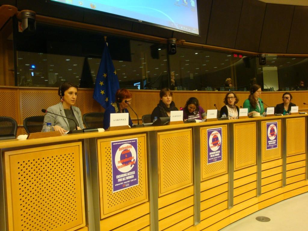 Arc at EU Parliament 632014