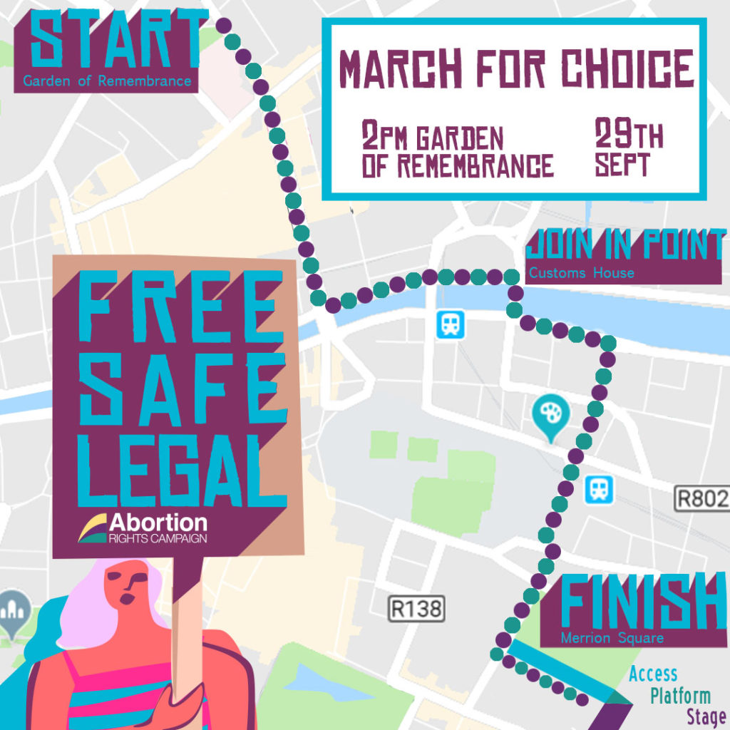 March Route Map